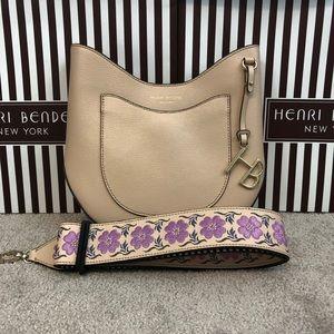 Henri Bendel Crossbody Bag w/ Embroidered Strap!